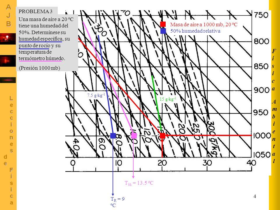Física Ambiental PROBLEMA 3