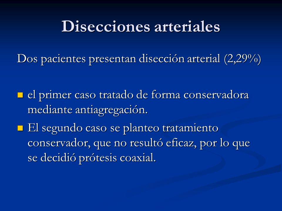 Disecciones arteriales