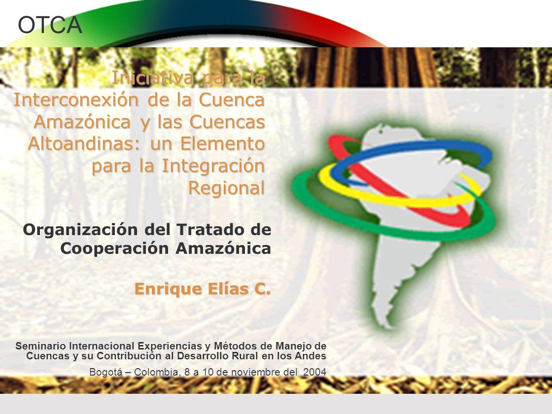Iniciativa para la Interconexión de la Cuenca Amazónica y las Cuencas Altoandinas: un Elemento para la Integración Regional