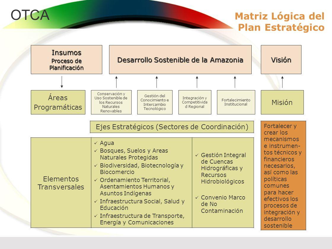Matriz Lógica del Plan Estratégico