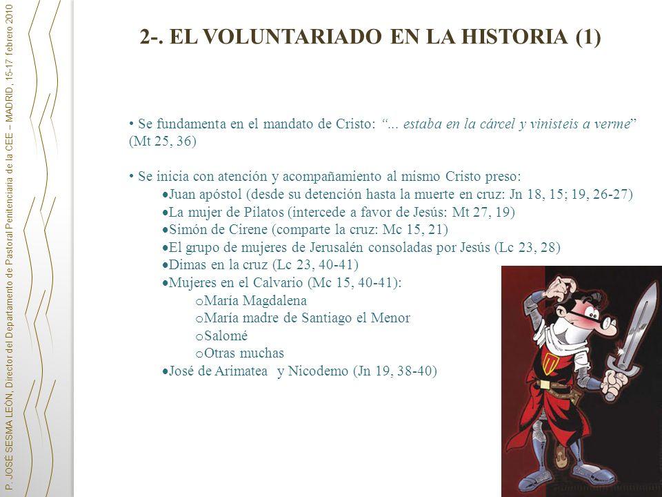 2-. EL VOLUNTARIADO EN LA HISTORIA (1)