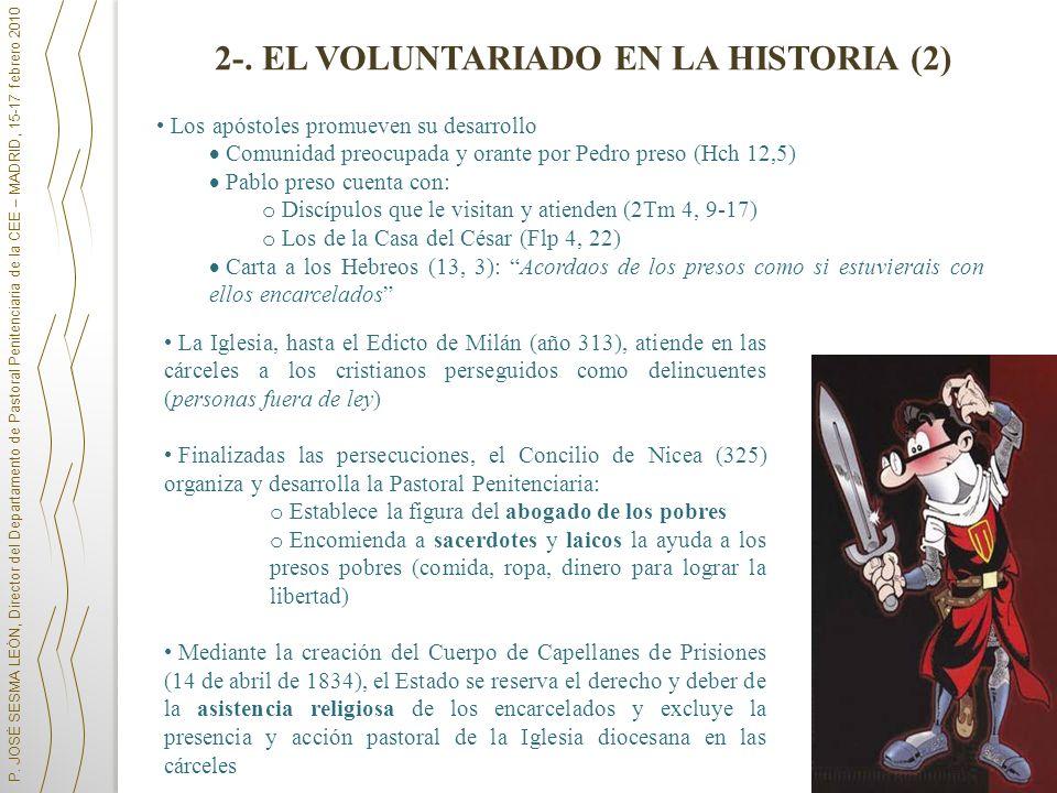 2-. EL VOLUNTARIADO EN LA HISTORIA (2)