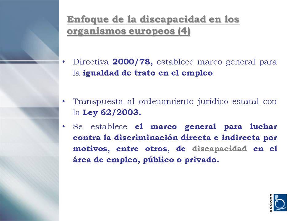 Enfoque de la discapacidad en los organismos europeos (4)