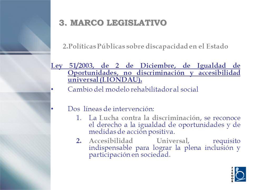 2.Políticas Públicas sobre discapacidad en el Estado