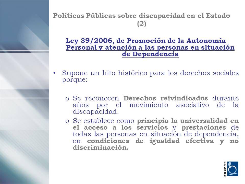 Políticas Públicas sobre discapacidad en el Estado (2)