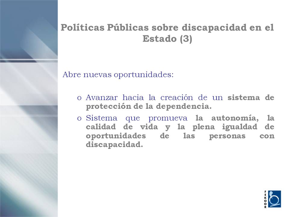 Políticas Públicas sobre discapacidad en el Estado (3)