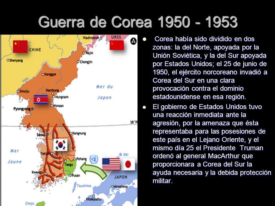 Guerra de Corea 1950 - 1953