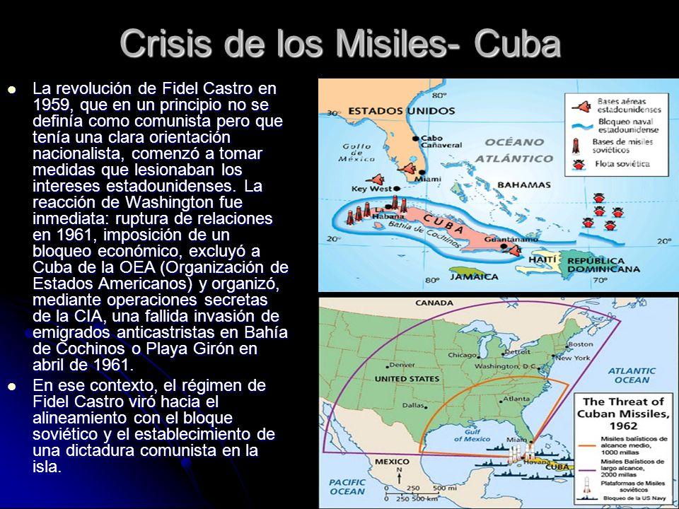 Crisis de los Misiles- Cuba