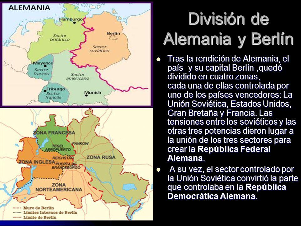 División de Alemania y Berlín