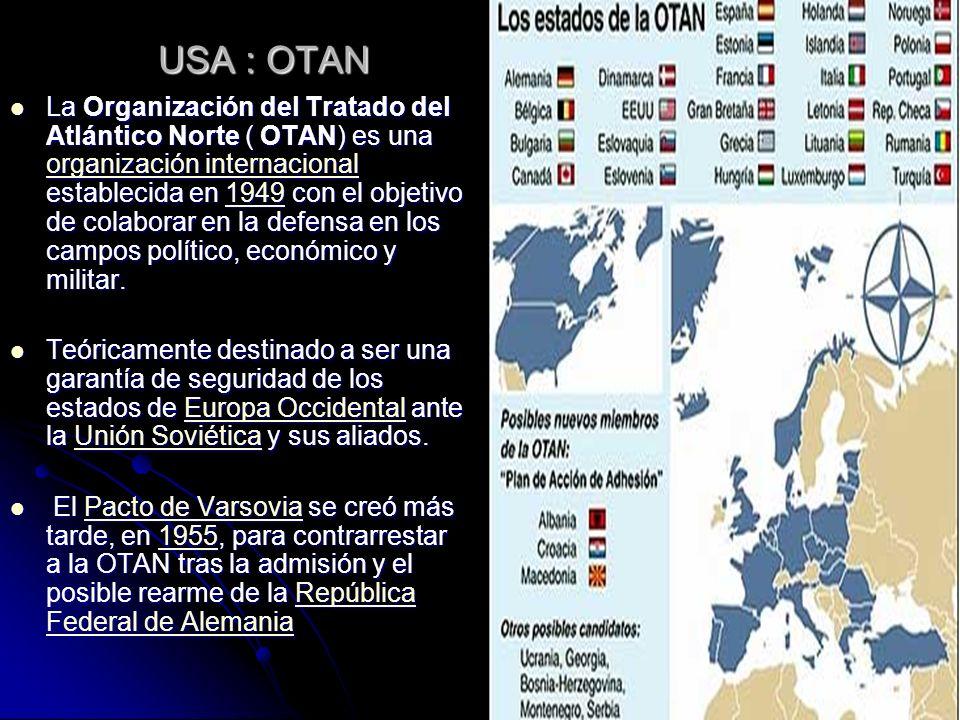 USA : OTAN