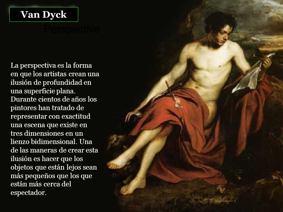Van Dyck Perspective.