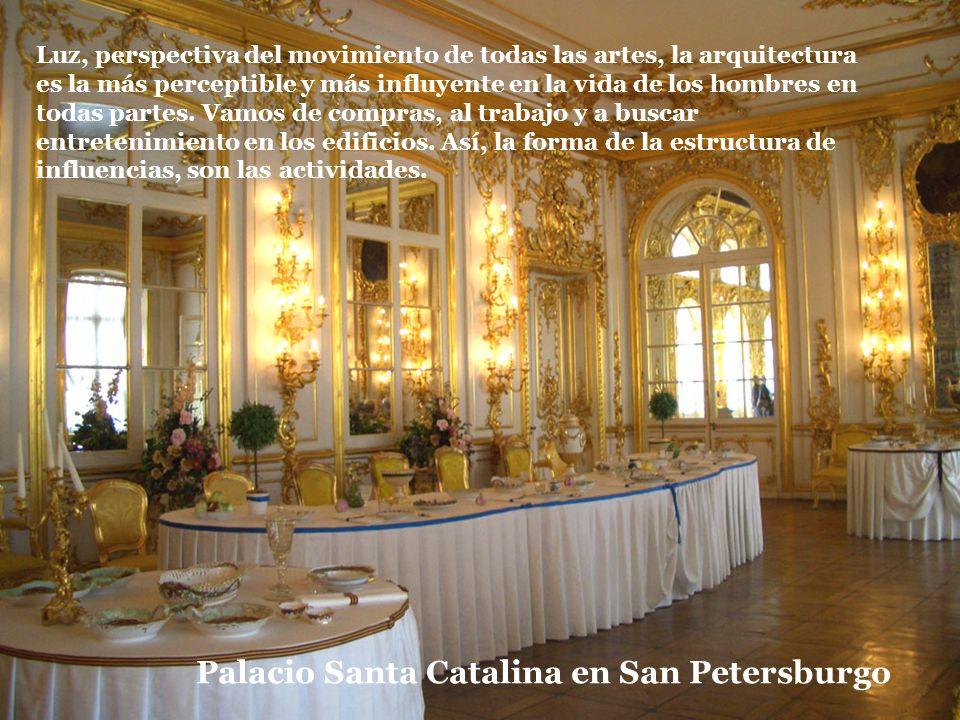 Palacio Santa Catalina en San Petersburgo