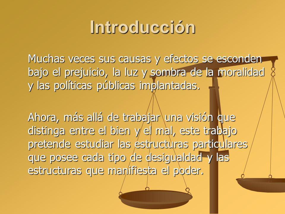 IntroducciónMuchas veces sus causas y efectos se esconden bajo el prejuicio, la luz y sombra de la moralidad y las políticas públicas implantadas.
