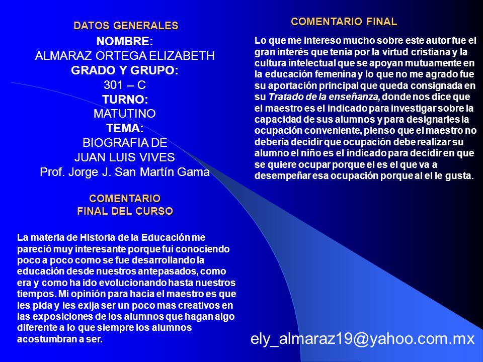 COMENTARIO FINAL DEL CURSO