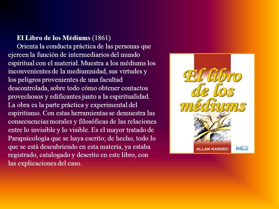 El Libro de los Médiums (1861)