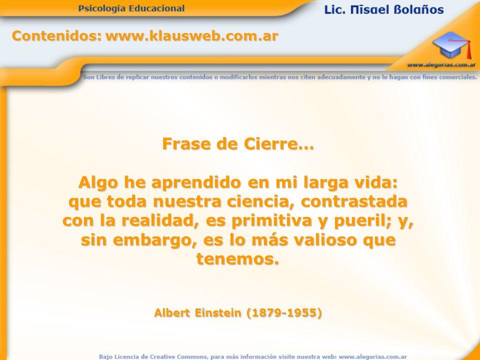 Contenidos: www.klausweb.com.ar