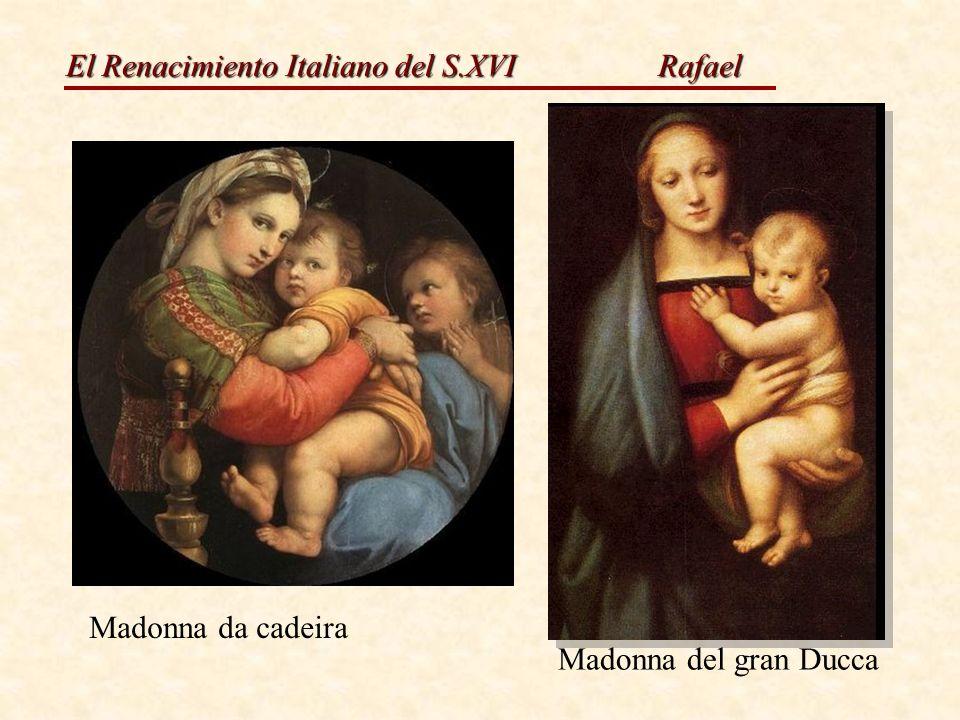 Rafael Madonna da cadeira Madonna del gran Ducca