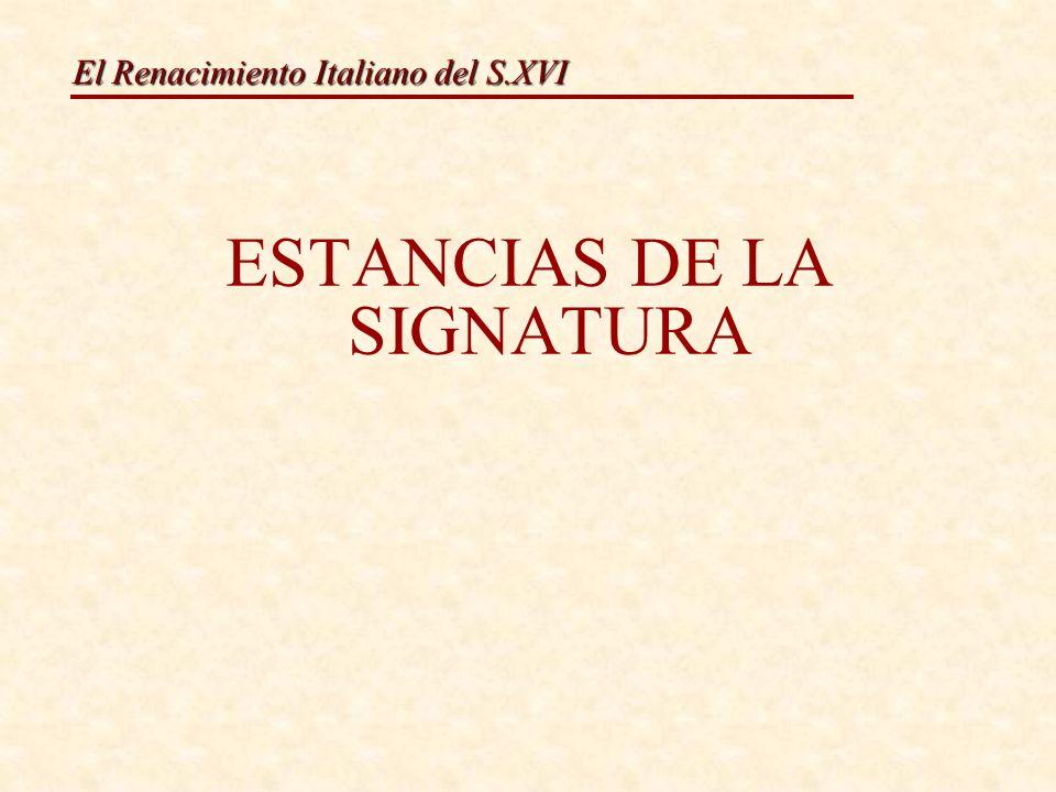 ESTANCIAS DE LA SIGNATURA