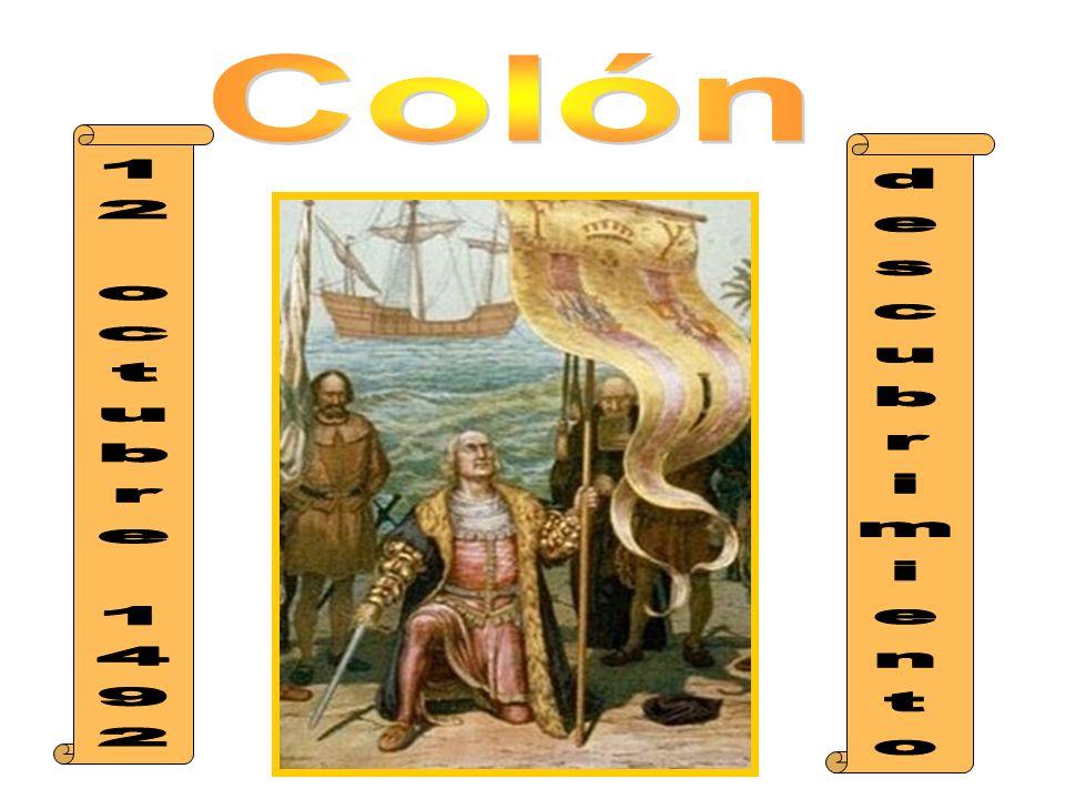 Colón 12 octubre 1492 descubrimiento