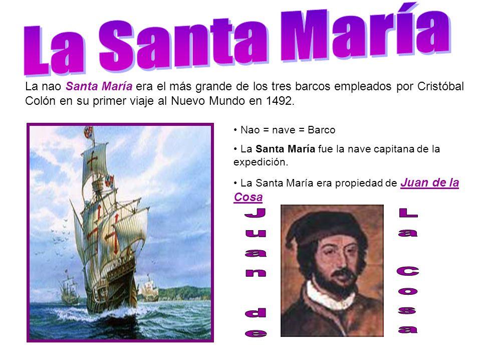 La Santa María Juan de La Cosa