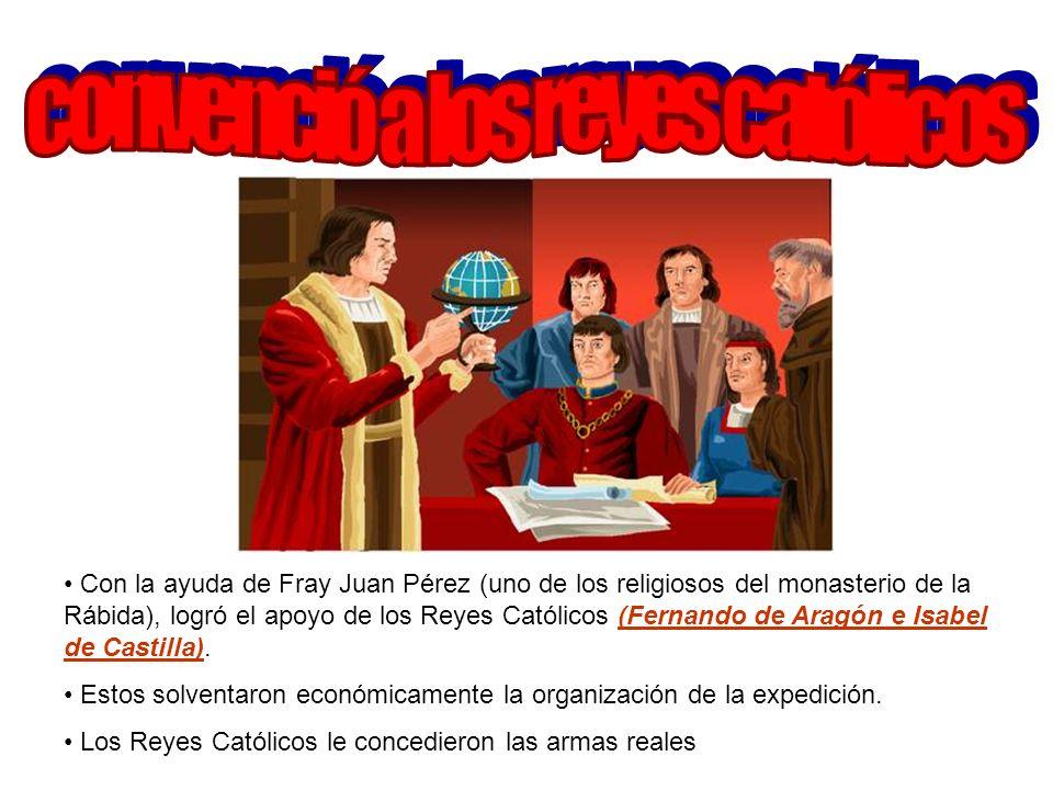 convenció a los reyes católicos