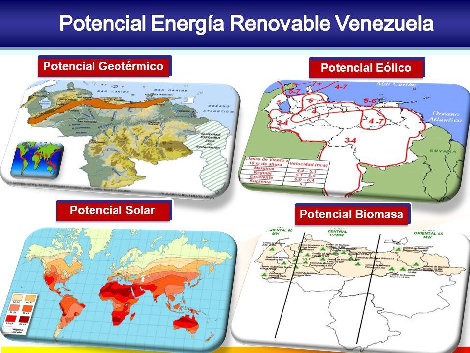 Potencial Energía Renovable Venezuela