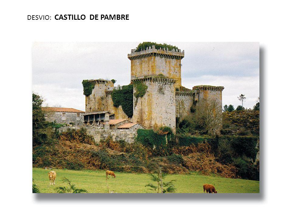 DESVIO: CASTILLO DE PAMBRE