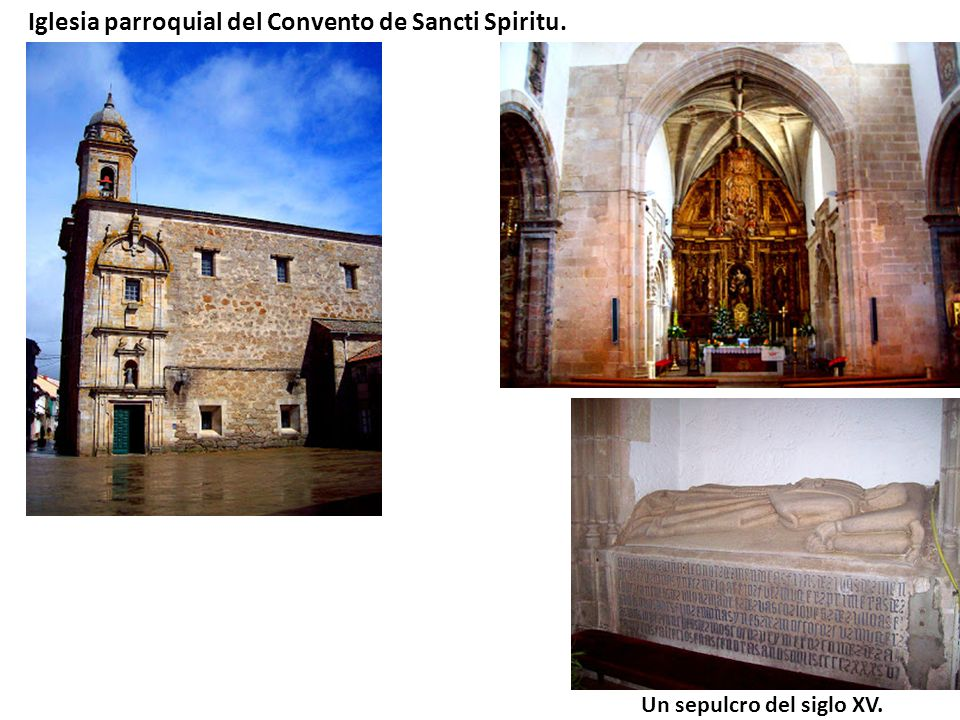 Iglesia parroquial del Convento de Sancti Spiritu.