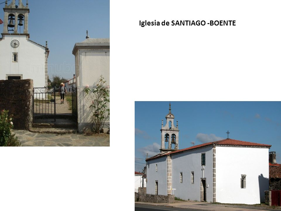 Iglesia de SANTIAGO -BOENTE