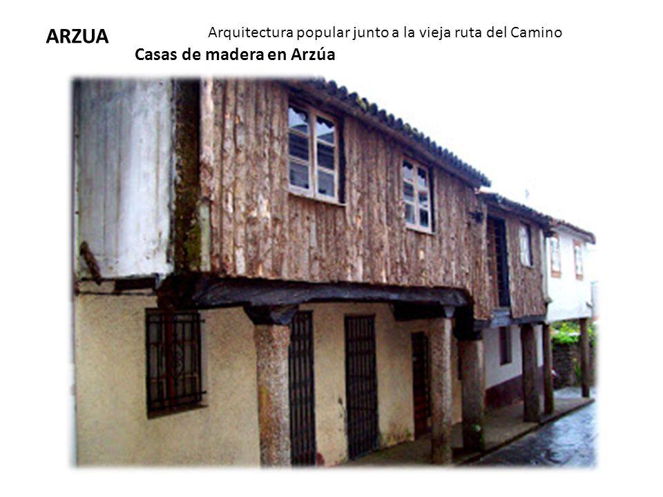 ARZUA Casas de madera en Arzúa