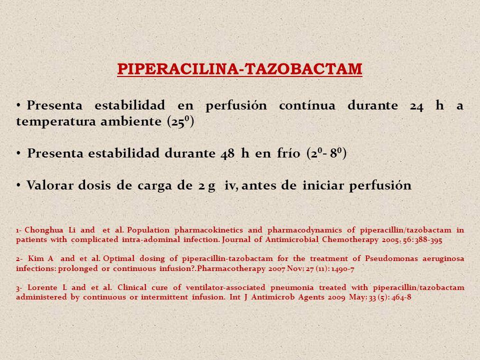 PIPERACILINA-TAZOBACTAM