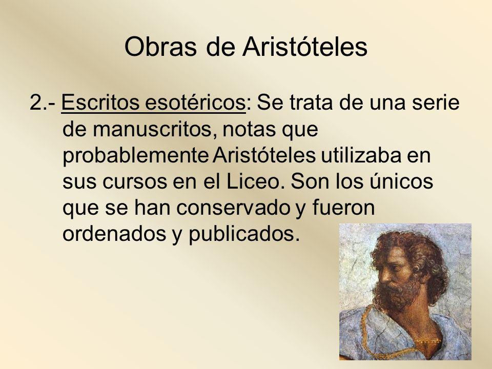 Obras de Aristóteles