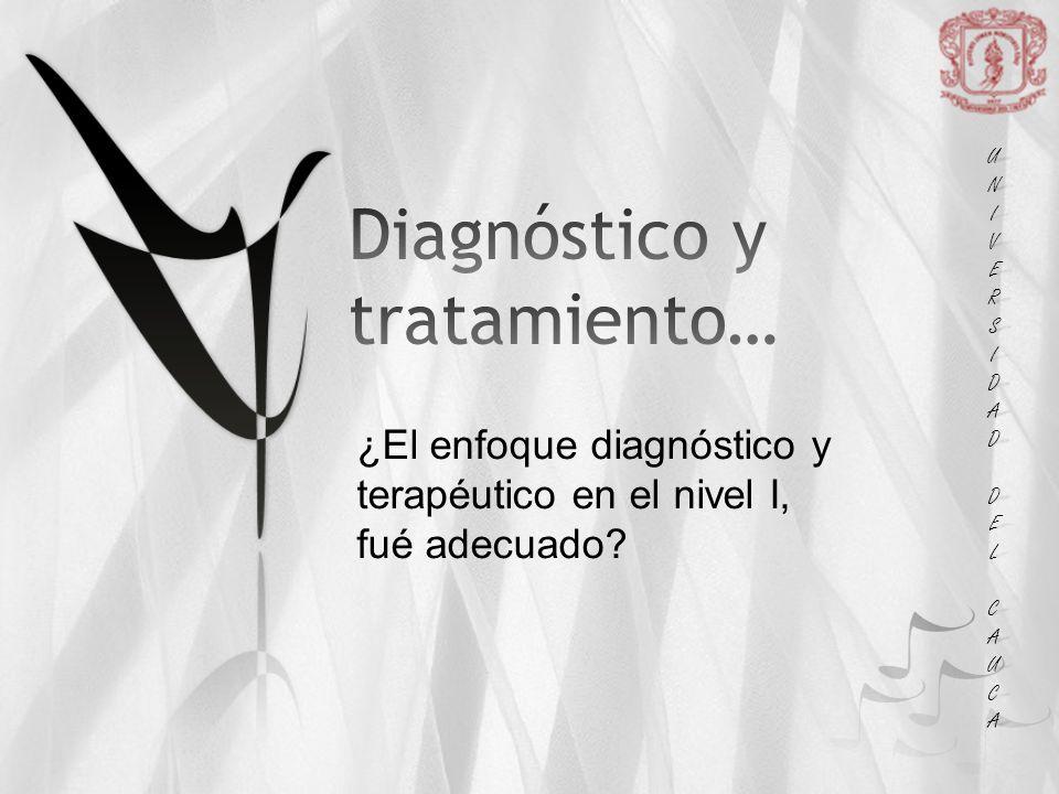 Diagnóstico y tratamiento…