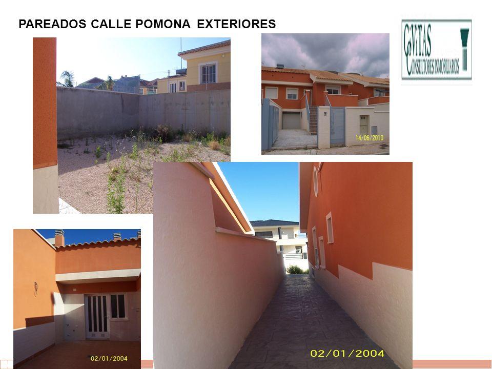 PAREADOS CALLE POMONA EXTERIORES