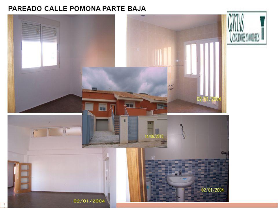 PAREADO CALLE POMONA PARTE BAJA