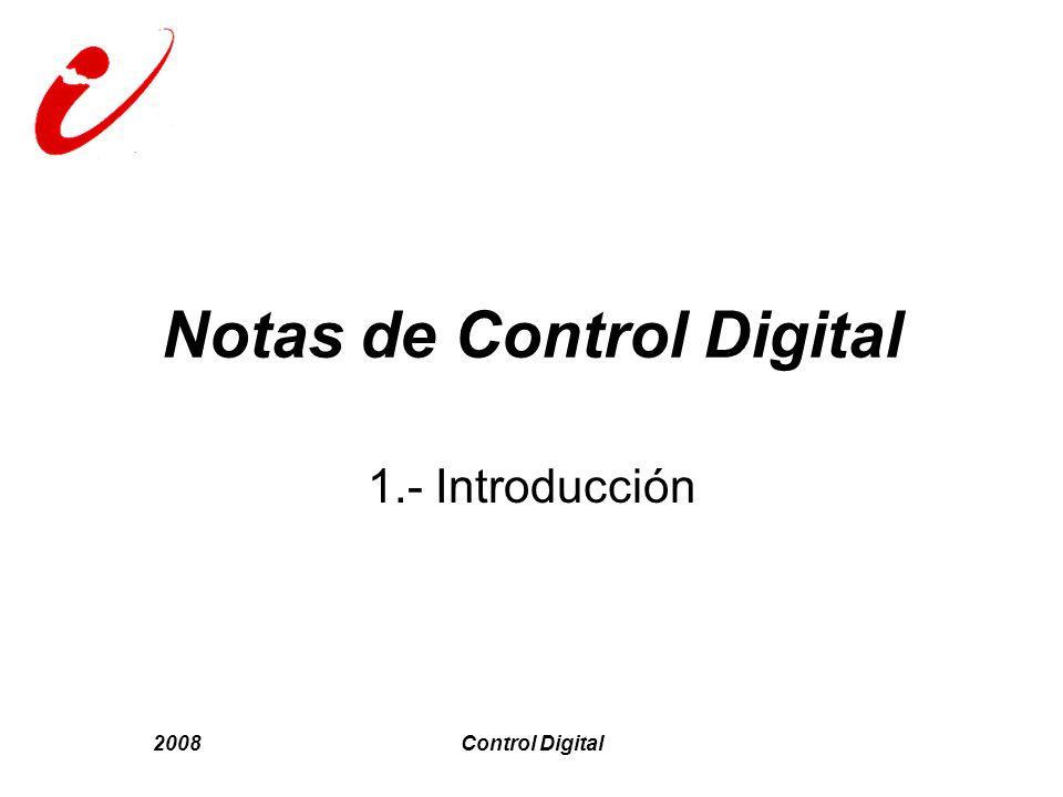 Notas de Control Digital