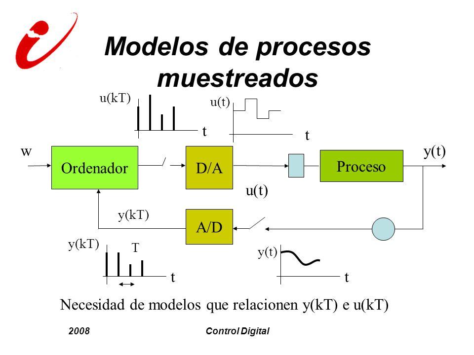 Modelos de procesos muestreados