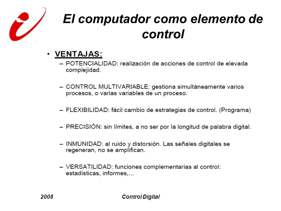 El computador como elemento de control