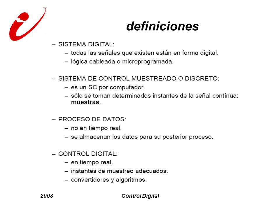 definiciones 2008 Control Digital