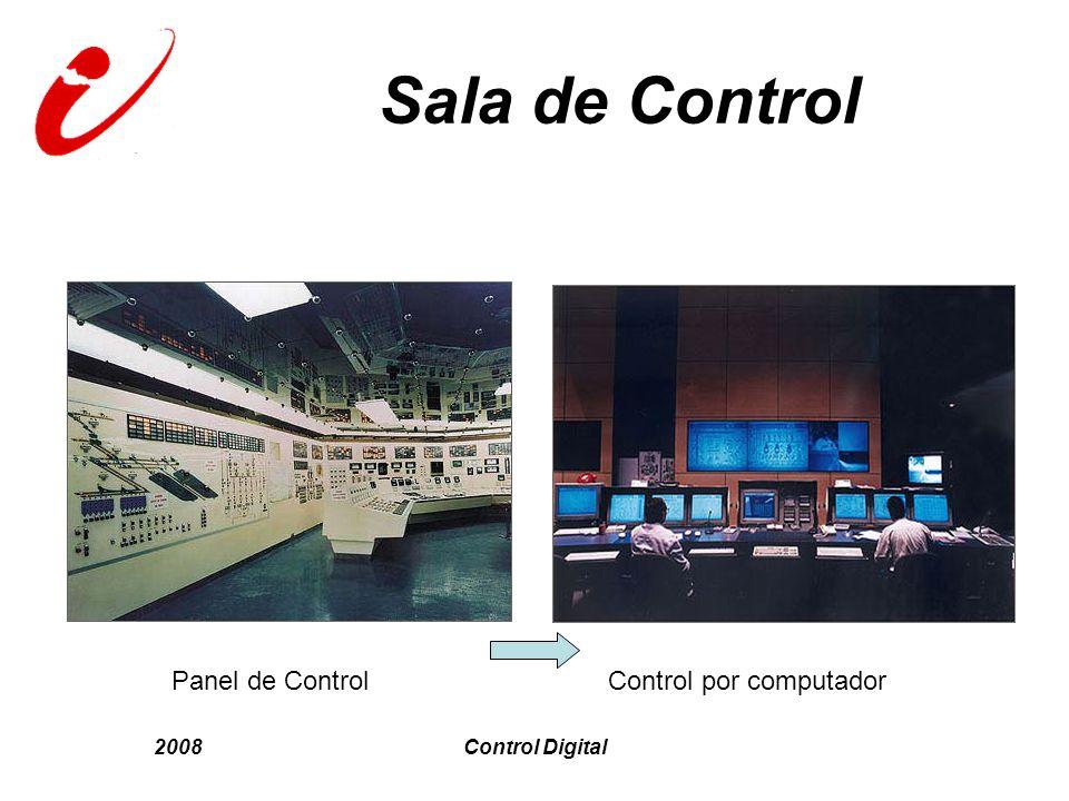 Sala de Control Panel de Control Control por computador 2008