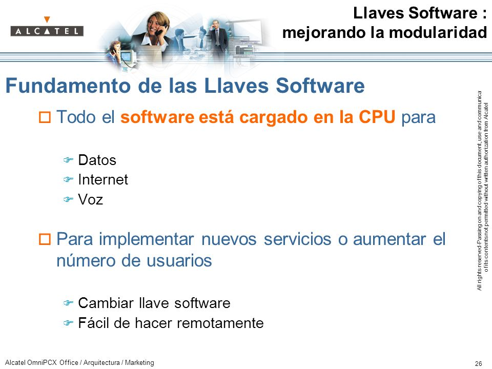 Fundamento de las Llaves Software