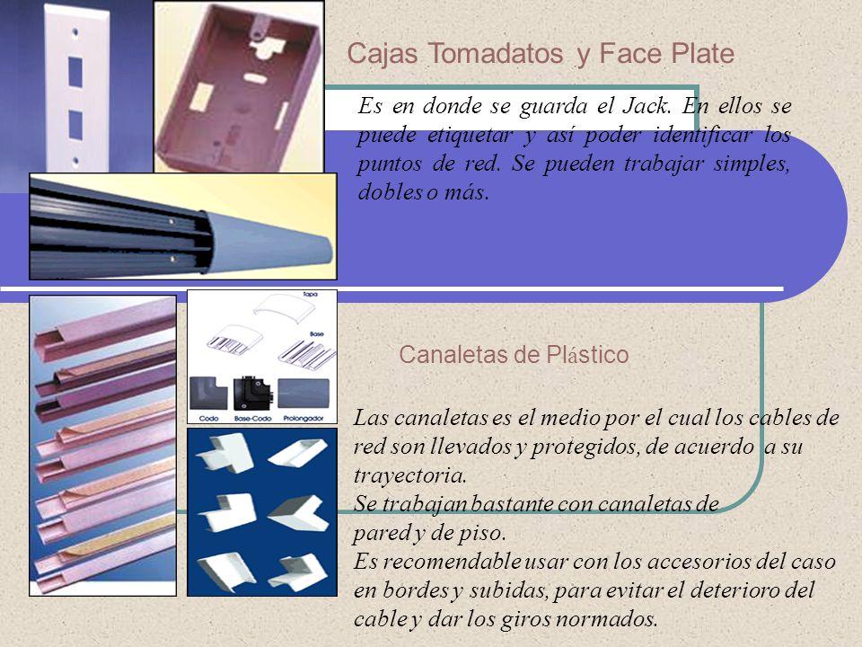 Cajas Tomadatos y Face Plate