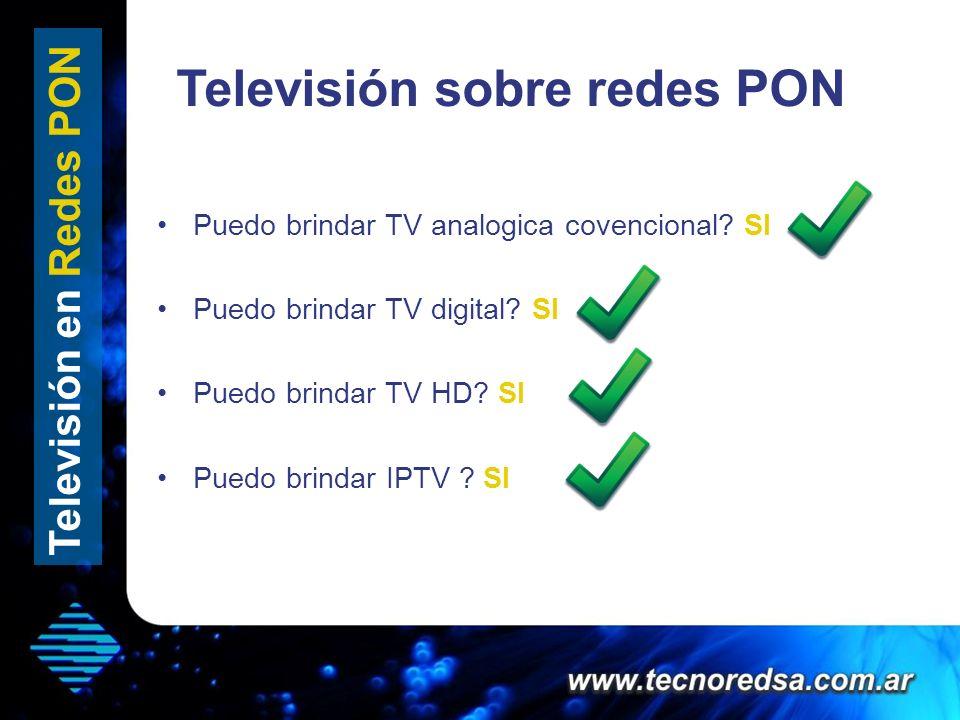 Televisión sobre redes PON