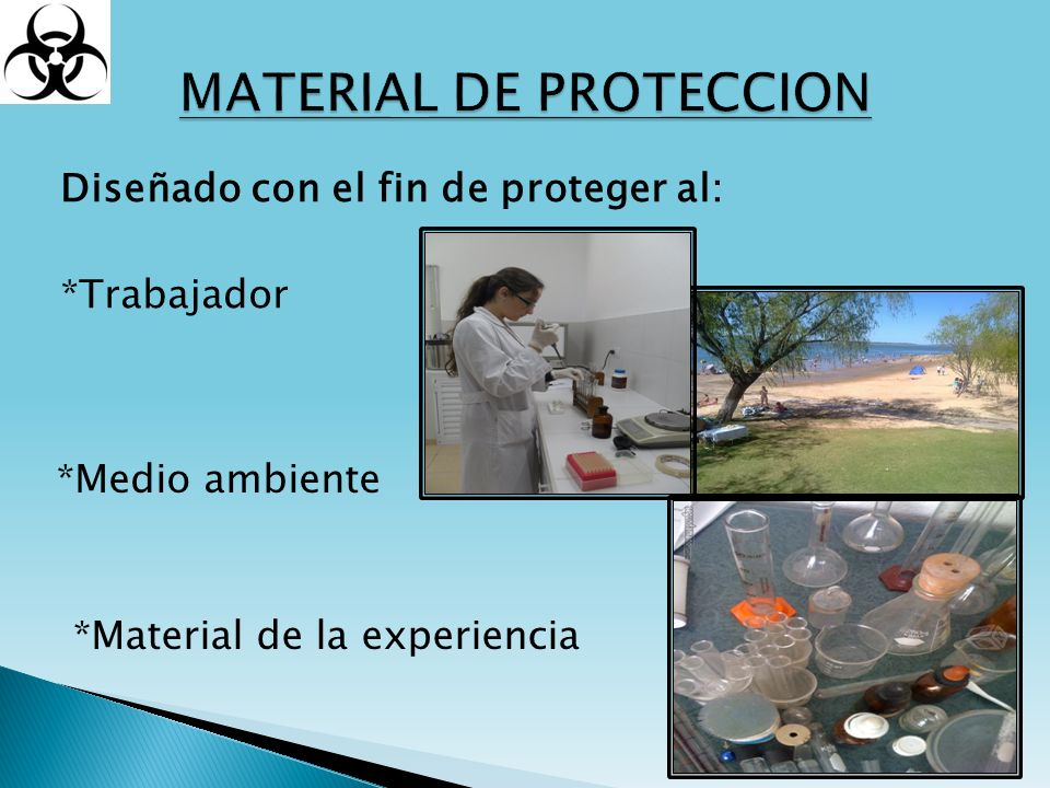 MATERIAL DE PROTECCION