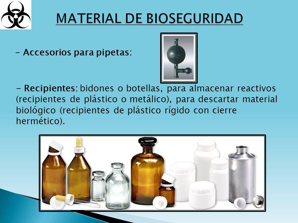 MATERIAL DE BIOSEGURIDAD