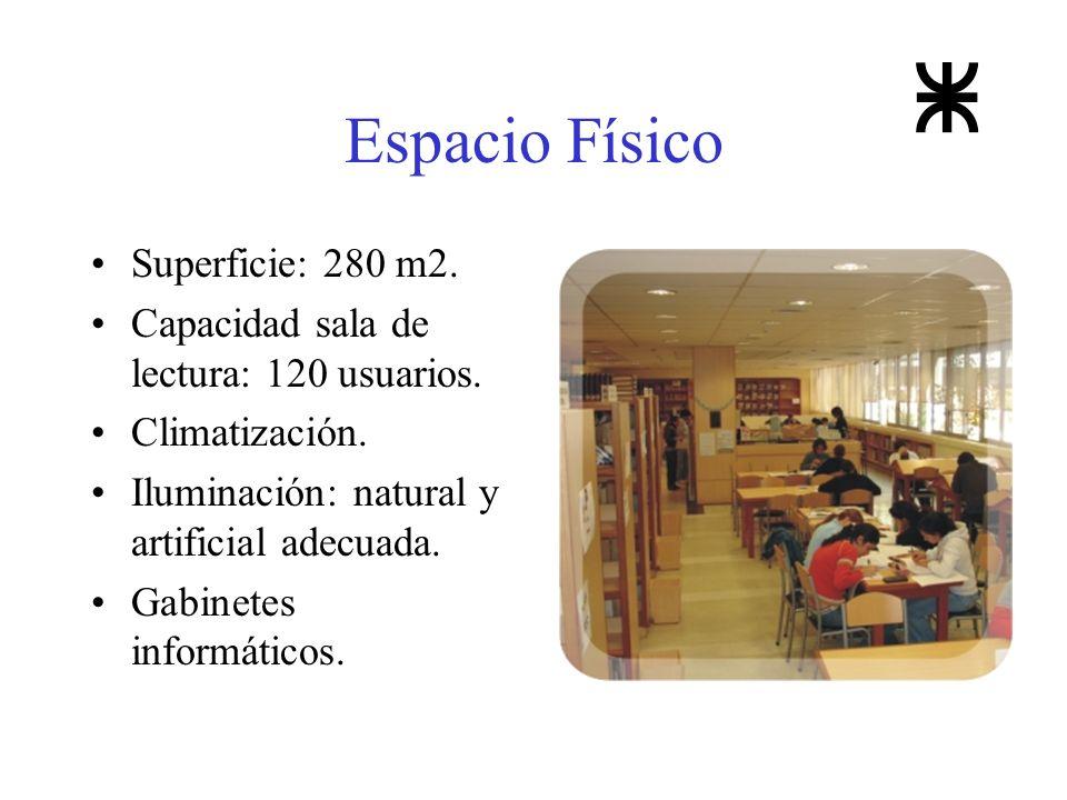 Espacio Físico Superficie: 280 m2.