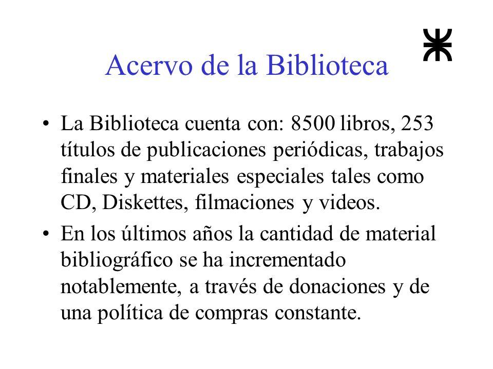 Acervo de la Biblioteca