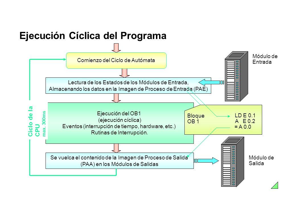 Ejecución Cíclica del Programa