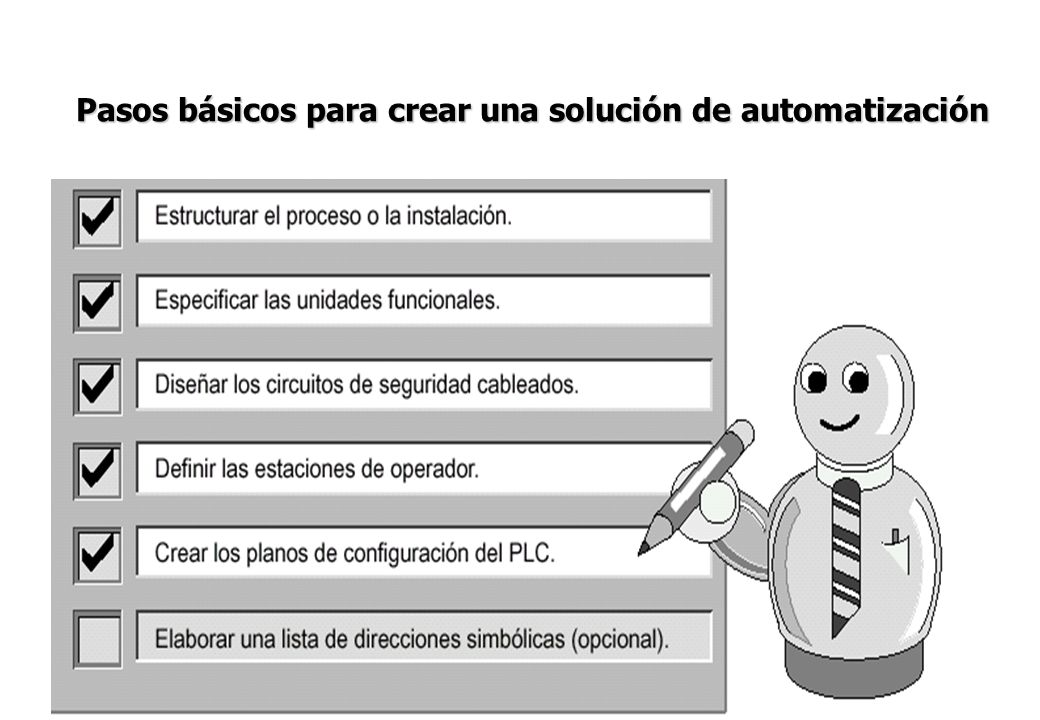Pasos básicos para crear una solución de automatización