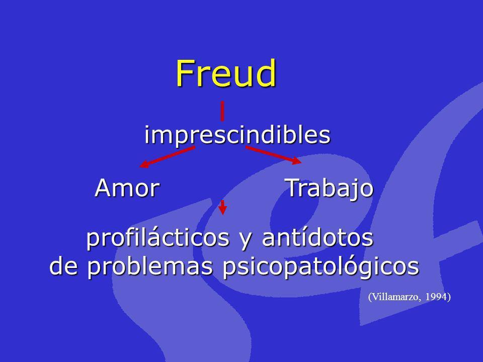 Freud imprescindibles Amor Trabajo profilácticos y antídotos